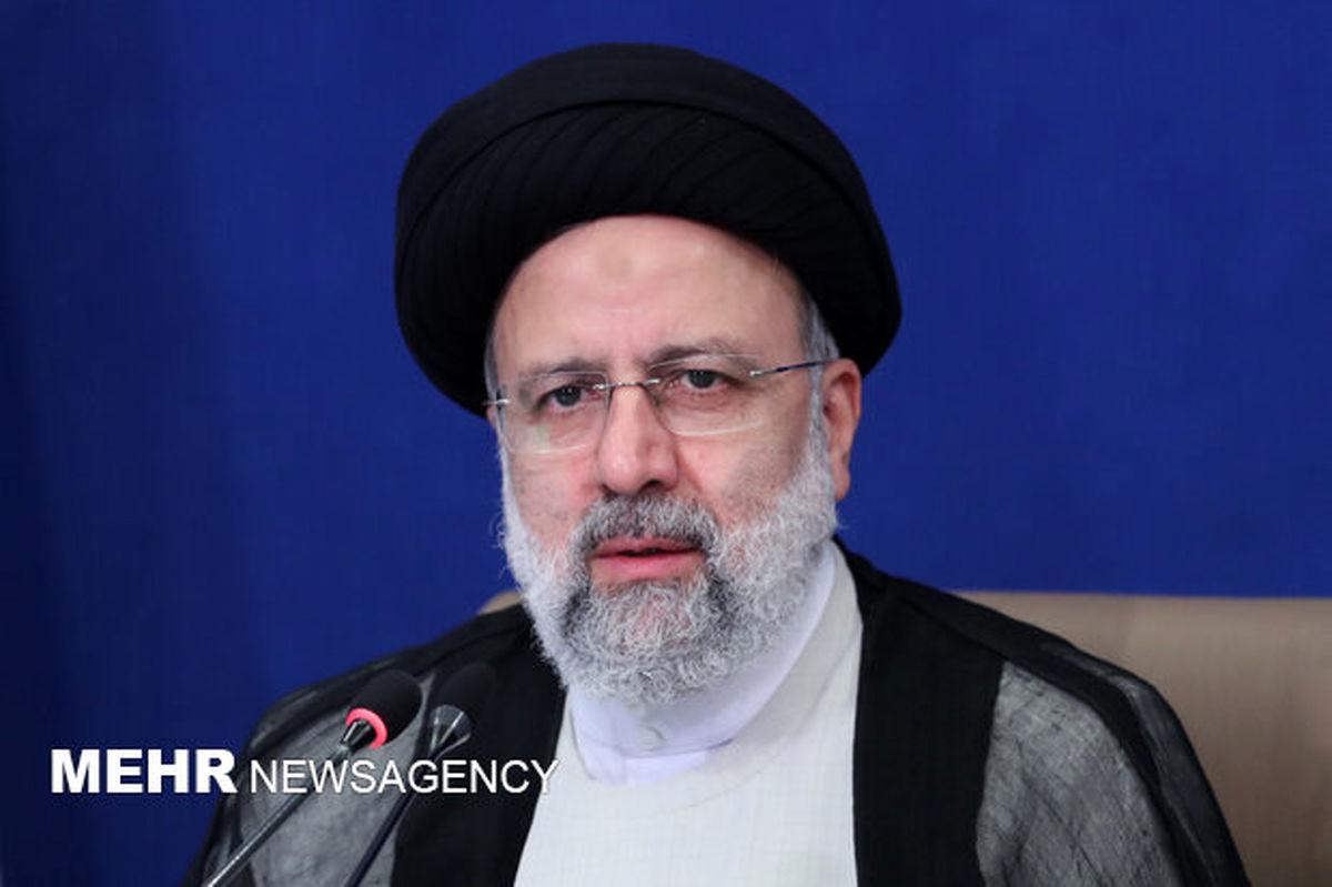 رئیسی: خروج آمریکا از افغانستان به فرصتی برای احیای صلح وامنیت تبدیل شود