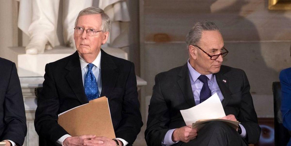 دموکراتها پیشنهاد جمهوریخواهان برای تقسیم قدرت در سنا را رد کردند