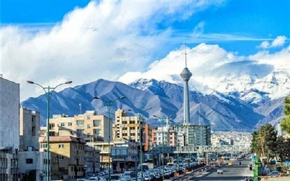 افزایش غلظت آلایندهها کیفیت هوای تهران را از شرایط پاک دور کرد