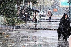 پیشبینی بارش باران طی روزهای پایانی سال