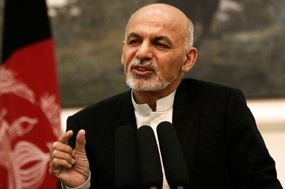غنی توافق صلح آمریکا با طالبان را زیر سوال برد