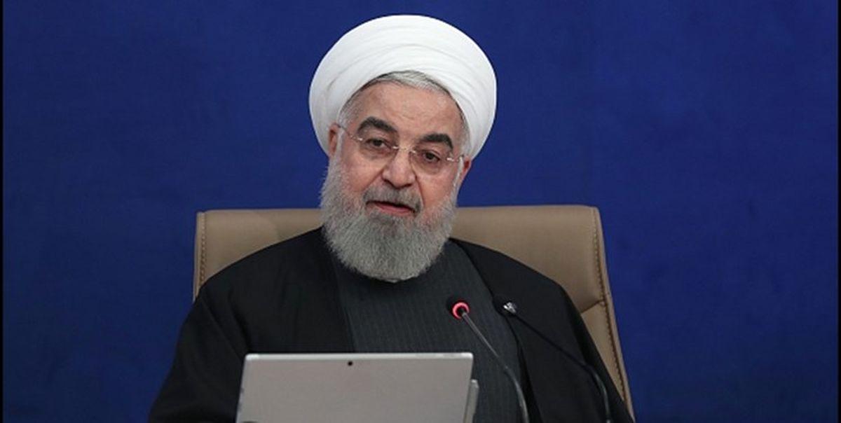 روحانی: تجارت با دنیا حق مردم است
