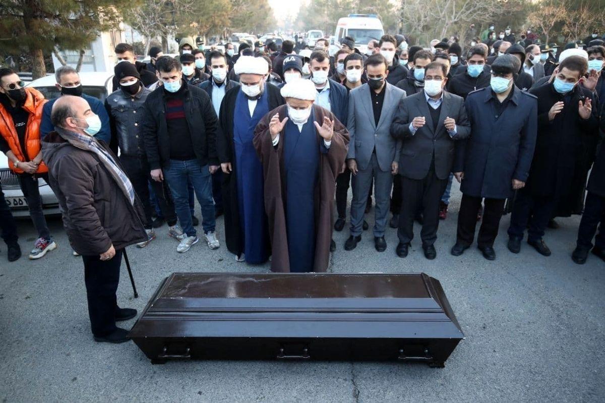 علی انصاریان به خاک سپرده شد