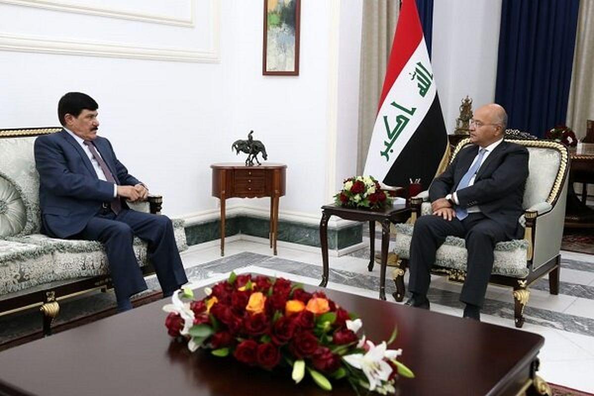 ثبات منطقه با ثبات عراق و سوریه مرتبط است