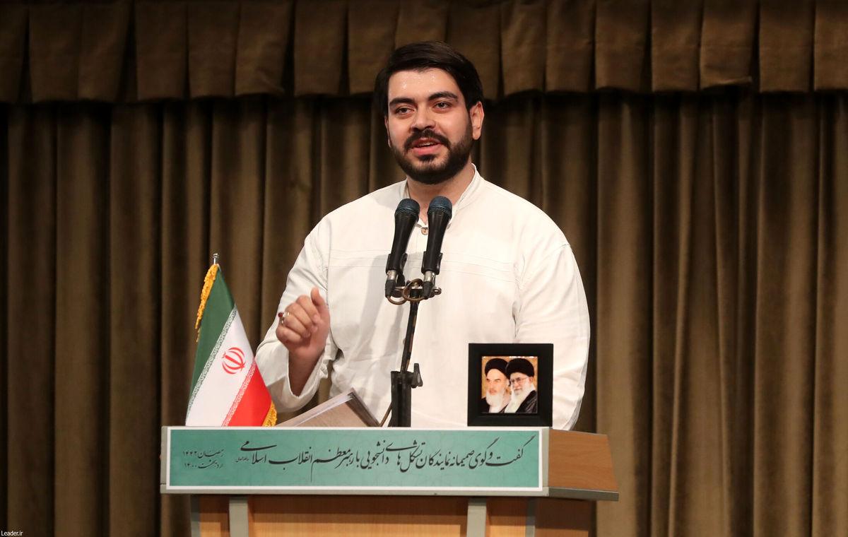 متن سخنرانی دبیر جنبش عدالتخواه دانشجویی در دیدار رمضانی