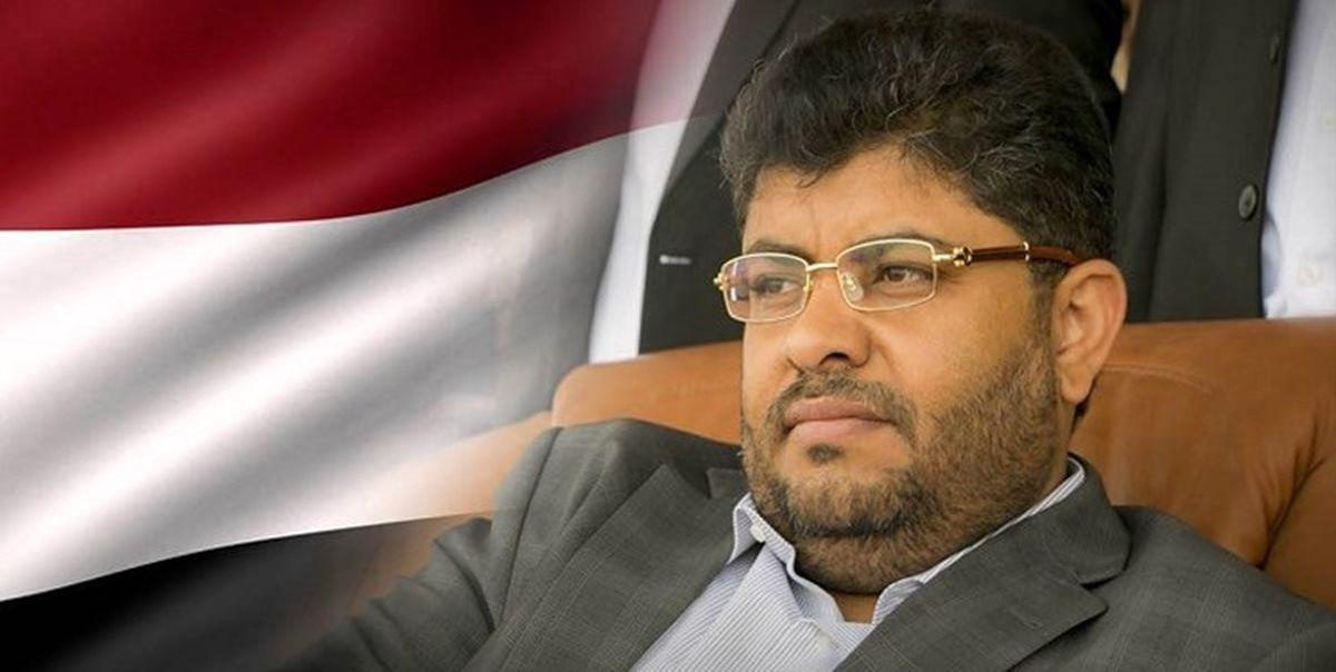 محمدعلی الحوثی: واشنگتن حمایت نظامی از ائتلاف سعودی را تحریم کند